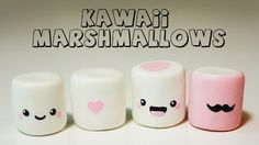 kawaii marshmallows - Buscar con Google