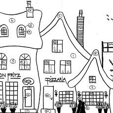 Embroidery Pattern of Shops.dk in Denmark. A lot to choose from. Change names on Shops. House Quilt Patterns, House Quilt Block, House Quilts, Quilt Blocks, Hand Embroidery Patterns, Applique Patterns, Applique Quilts, Pottery Houses, Bird Quilt