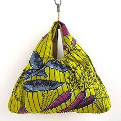 African print fabric bag