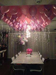 Balloon & floral display