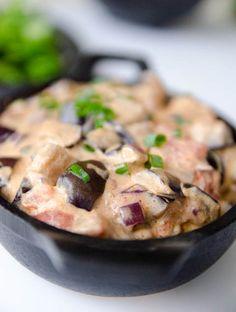Strogonoff de Berinjela - Receita Vegetariana   A casa encantada