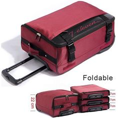 Large Capacity Travel Suitcase-Love Easy Life