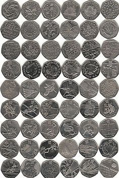 50 p #fifty #pence  #coins,  View more on the LINK: 	http://www.zeppy.io/product/gb/2/322045542396/