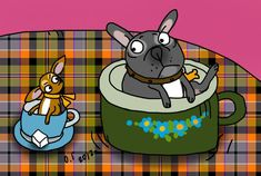 French Bulldog Pictures, Cute French Bulldog, French Bulldogs, Bullying, Scooby Doo, Fictional Characters, Art, French Bulldog Shedding, Art Background