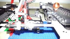 Lego GBC conveyor transfer