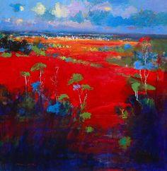 Landscape Artwork, Abstract Landscape, Norman Smith, John Russell, Australian Painting, Artist Art, New Art, Art Photography, Illustration Art