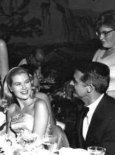 """Cary Grant and Grace Kelly attend the Philadelphia premiere of To Catch a Thief, August 2, 1955. """