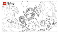 MoanaTribute Moana Movie Trailer Lego Disney Coloring Pages Printable And Book To Print For Free Find More Online Kids