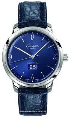 The refreshed Glashutte Original Sixties Panorama Date Automatic three-hander with their signature big date complication looks like a breath of fresh air