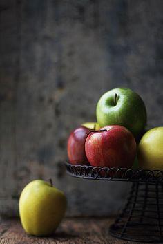 pommes, apples