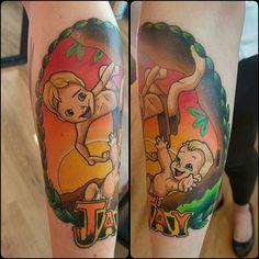 Tarzan tattoo sexy