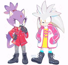 """mmairo: """" more fashion friends to go with sonic and the others UoU """" Sonic The Hedgehog, Hedgehog Game, Silver The Hedgehog, Shadow The Hedgehog, Character Art, Character Design, Sonic Franchise, Sonic And Shadow, Sonic Fan Art"""
