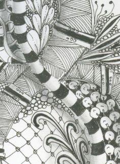 Image detail for -. Zentangle® is a registered trademark of Zentangle, Inc. Learn more at Drawings, Doodle Art, Book Of Kells, Art Forms, Zentangle, Abstract Artwork, Art, Zentangle Art, Art Journal
