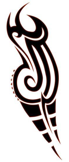 tribal #tribal #design #drawing #ink #tatoo #illustration #sketch