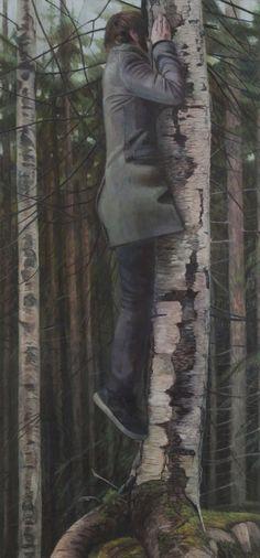 'Dybbuk' - Christer Karlstad | Norwegian contemporary figurative painter