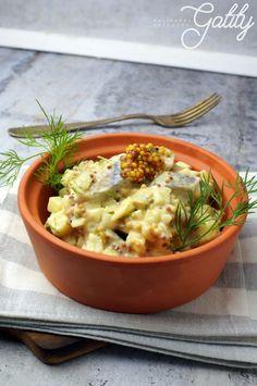 Sledzie-w-sosie-musztardowym Risotto, Ethnic Recipes, Food, Meal, Essen, Hoods, Meals, Eten