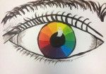 Great first project. Elements and principlesStudent choice of subject. Must include circle with color wheel, (primary, secondary, tertiary). Elsewhere in the drawing include 2 principles.
