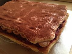 Tiramisu, Pancakes, Breakfast, Ethnic Recipes, Food, Mascarpone, Meal, Pancake, Eten
