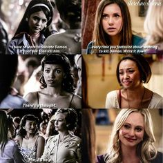 #barolena parallel Makes me wonna cry #tvd ❤❤