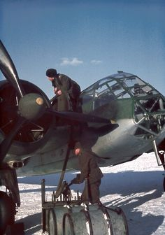 Refueling of the Blenheim Mk.I Finnish Air Force bomber at Luonetjärvi airfield, 1944 - pin by Paolo Marzioli Ww2 Aircraft, Military Aircraft, Air Fighter, Fighter Jets, Finnish Air Force, Bristol Blenheim, Bristol Beaufighter, Ww2 Pictures, Ww2 Photos