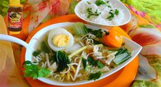 Surinaams eten – Saoto met Paksoi, Woknoedel en Rijst