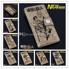 20 Models of Japanese Anime Cartoon Wallets Attack On Titan League of Legends Naruto ONE PIECE Fairy Tail Wallets Money Clip Gifts for Kids from Panda1694,$16.98 | DHgate.com