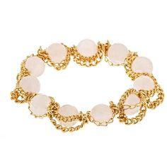 ELSA CHELA Rose Quartz stretch bracelet!
