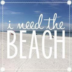 I. Need. Beach. <3