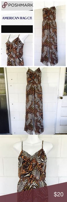 American Rag ROMPER American Rag Cie printed sexy romper, never worn, good condition American Rag Other