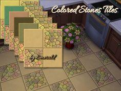 emerald's Colored Stones tiles !