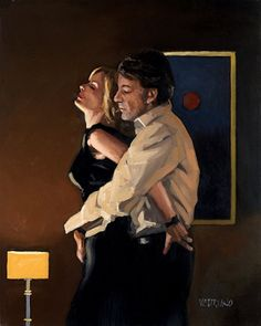 Jack Vettriano Couple X art painting for sale; Shop your favorite Jack Vettriano Couple X painting on canvas or frame at discount price. Jack Vettriano, The Singing Butler, Gottfried Helnwein, Poesia Visual, Double Exposition, Edward Hopper, Wow Art, Art Moderne, Pulp Art
