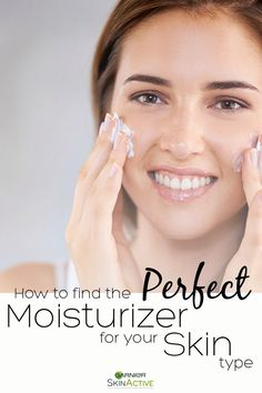 Whether you have normal, dry, oily, sensitive or a combination of all four, finding a proper moisturizer is an essential part of a skin care routine. Each skin type has specific needs, so a skincare routine will vary depending on type. If you're unsure what moisturizer works best for your skin type, Garnier has created a helpful guide to find out. Get healthy, well-moisturized skin today.