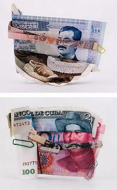 Banknote Portraits by Philippe Pétremant | Inspiration Grid | Design Inspiration