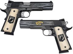 Smith and Wesson 1911  POW/MIA  --  nice pair
