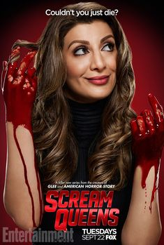 From the minds behind Glee and American Horror Story, Scream Queens is sure to be, if nothing else, bloody. After all, it's a horror-comedy about a...