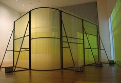 corrugated plastic architecture wall - Google Search