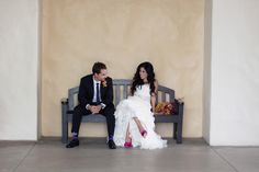 Real Wedding: Paige + Sam in California // Images by Joe+Kathrina Photography // Via Modernly Wed