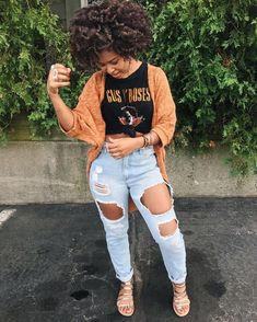 ✌️Casual outfit ‼️ for more pins ✨ Fashion Killa, Look Fashion, Autumn Fashion, Dope Outfits, Casual Outfits, Fashion Outfits, Look 2015, Look Blazer, Types Of Fashion Styles