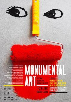 Italian Poster Biennal Anita Wasik / Poland Monumental Art 2013