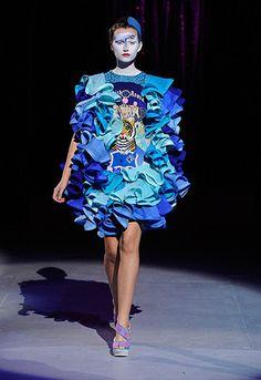 London Fashion Week nel 2007 .