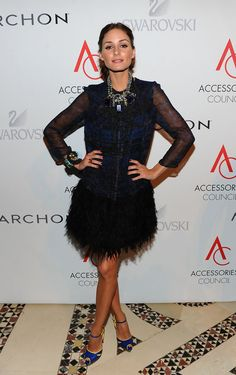 TV personality Olivia Palermo attends the 14th Annual ACE Awards presented by the Accessories Council at Cipriani 42nd Street on November 1, 2010 in New York City.