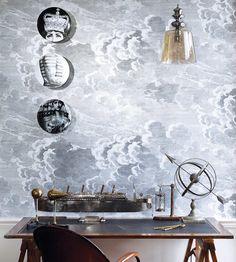 Design Classics | Nautical | Nuvolette Wallpaper by Cole & Son | Jane Clayton