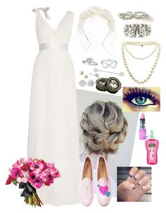 """""""brie ~ fw wedding planning stuff c:"""" by zoemund ❤ liked on Polyvore featuring Lanvin, Cappellino Millinery, Del Toro, Lime Crime, Cotton Candy, Tiffany & Co., Pandora, Carolee and Chanel"""