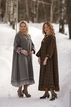 Boho Fashion, Fashion Dresses, Caftan Dress, Winter Collection, Fur Coat, Kicks, Creations, Dressing, Bohemian