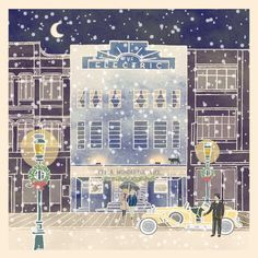The Electric Cinema at Christmas