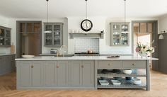 the Polished Pebble: The Kitchen Considered: The English Scullery & Cooks Kitchen