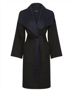 Jaeger's Double-Faced Wrap Coat