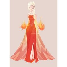 If she was of the fire element | Entertainment | Pinterest via Polyvore