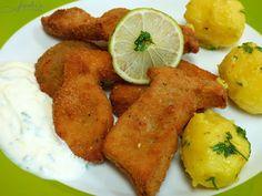 fischis cooking and more: gebackene steinpilze mit schnittlauchsauce
