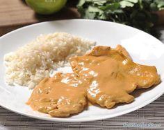 Pollo al Chipotle- hoping I can get this recipe right! Chipotle Recipes, Fish Recipes, Mexican Food Recipes, Great Recipes, Chicken Recipes, Recipies, My Favorite Food, Favorite Recipes, Pollo Recipe